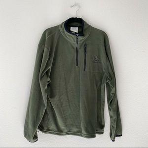 Ducks Unlimited Fleece Green Pullover XL